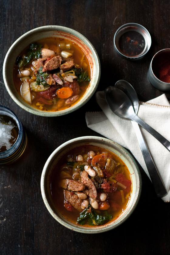 chorizo-bean-soup