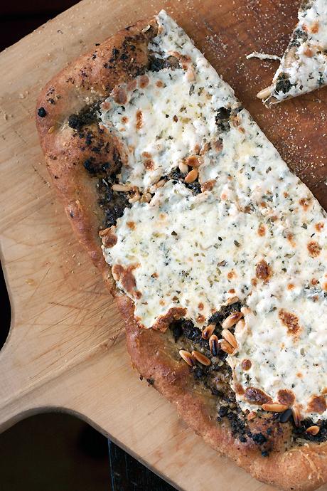 Quick(er) Whole Grain Pizza Dough  