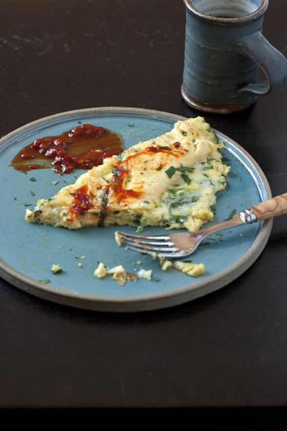 fresh-herb-omelet