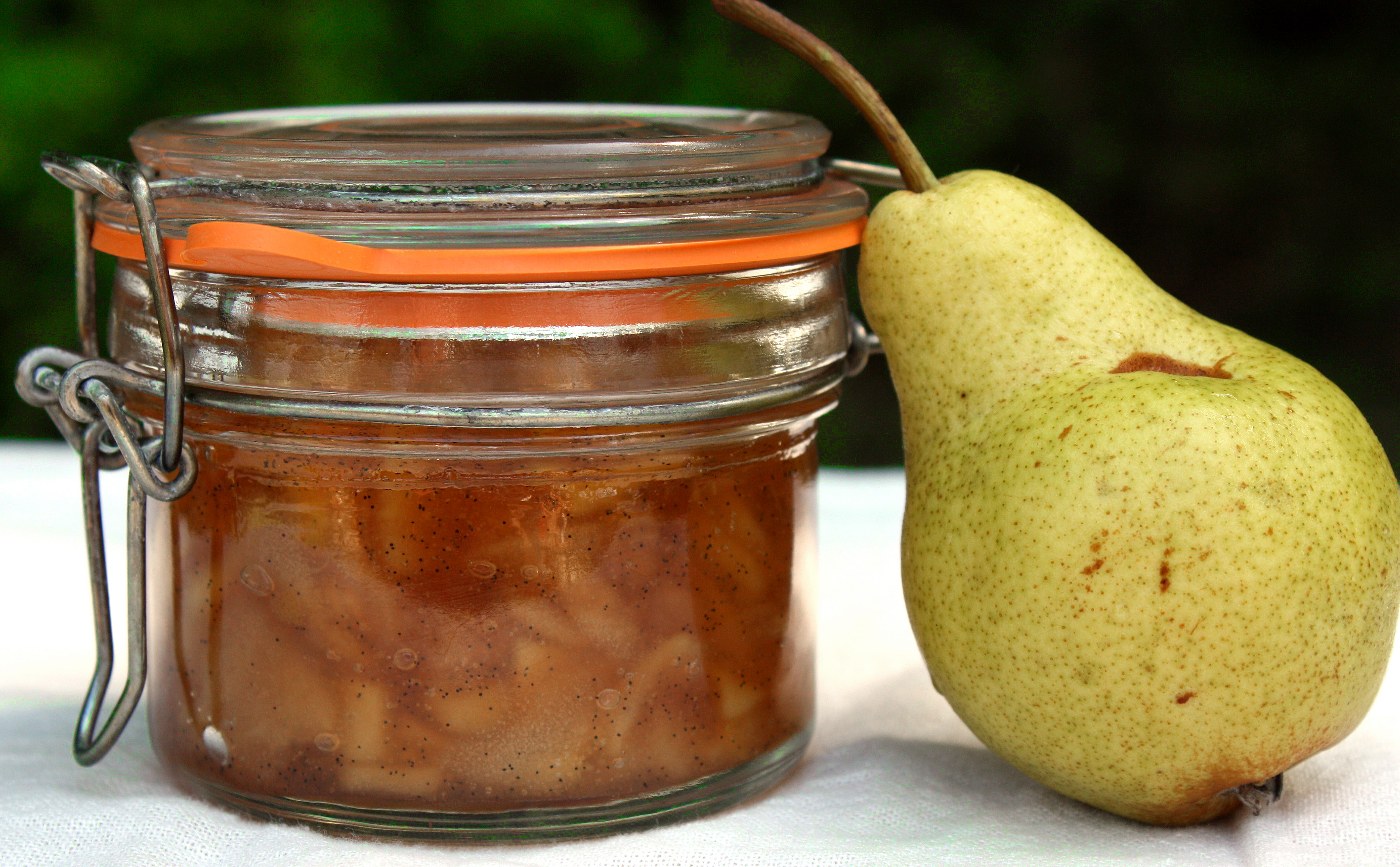 The most delicious pear jam: cooking with love 42