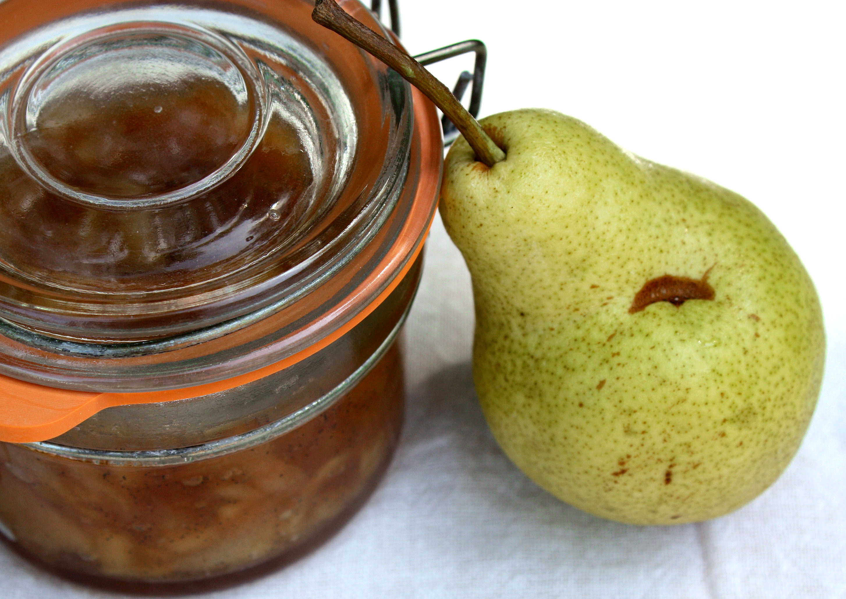 Caramelized Pear Jam with Vanilla Bean |