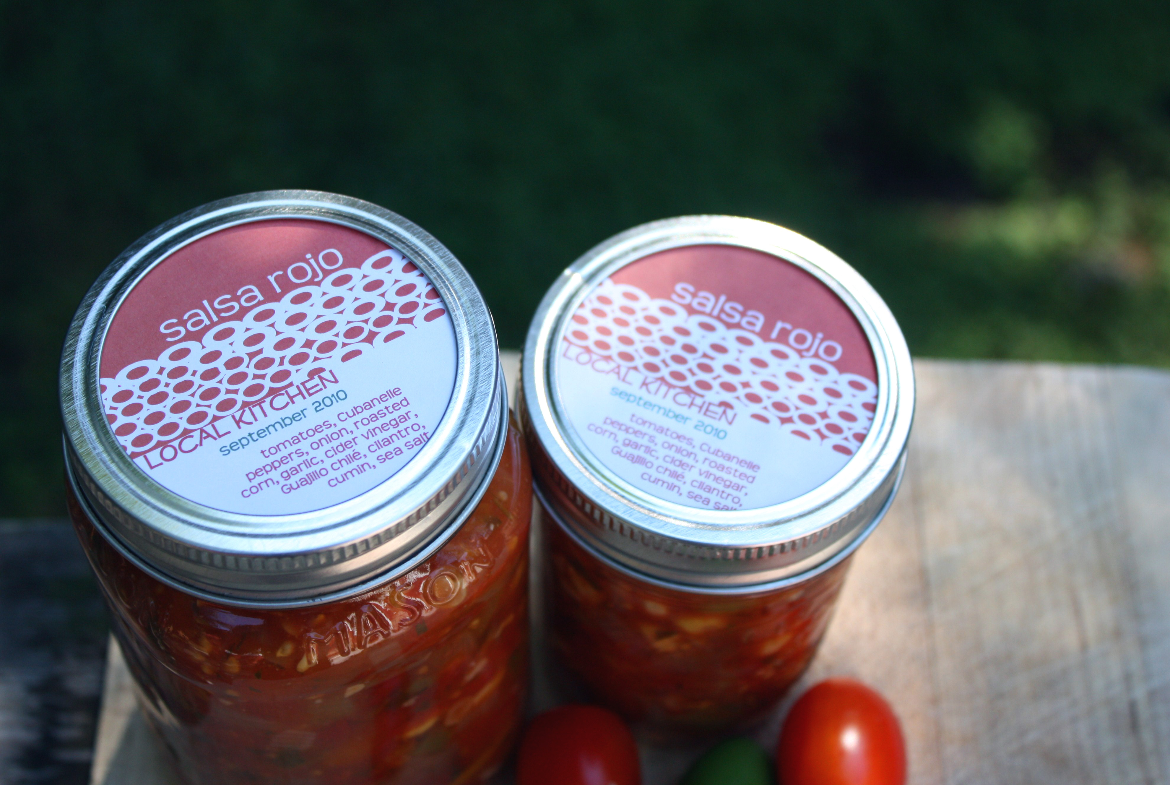 how to make home canned salsa
