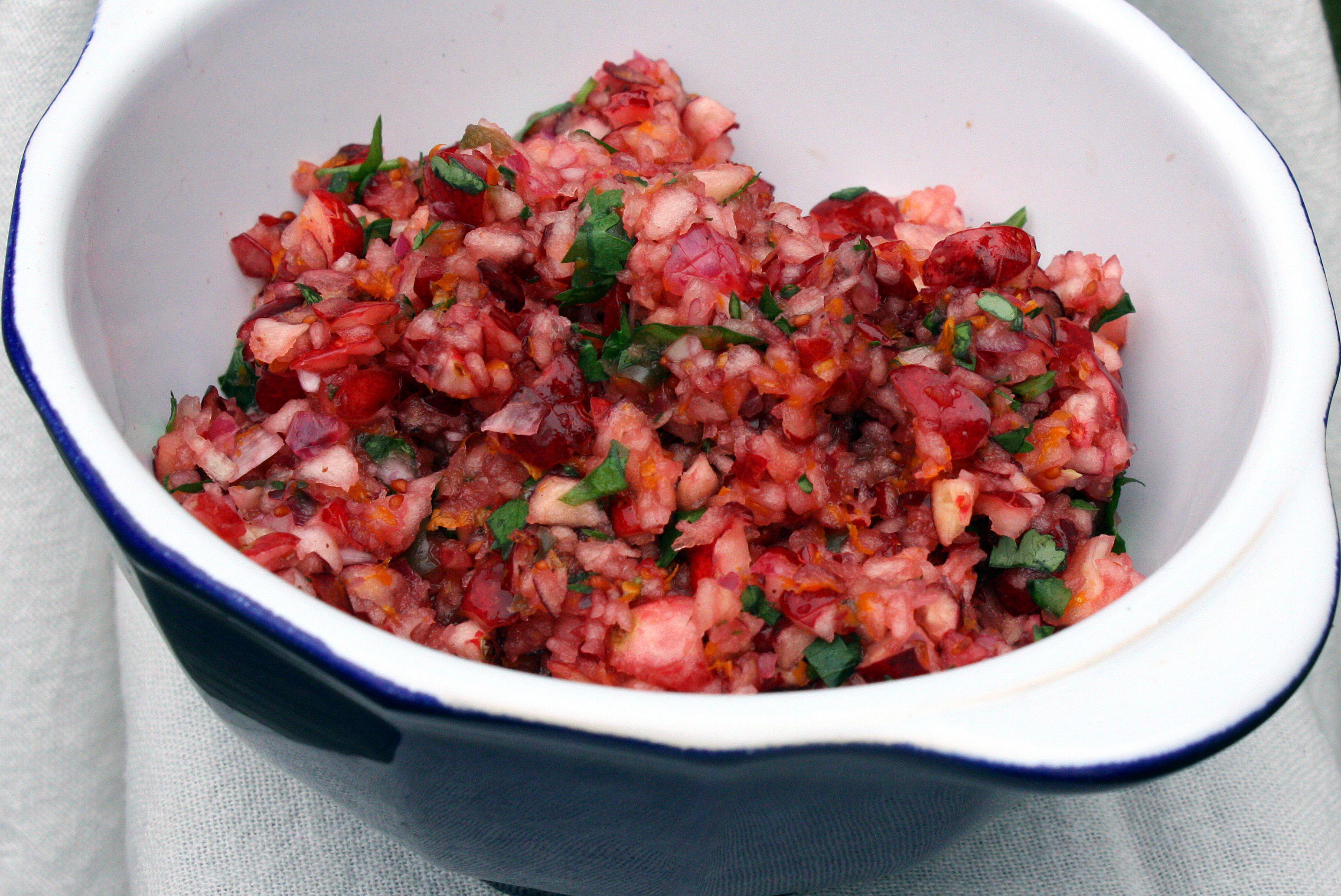 Fresh Cranberry Salsa |