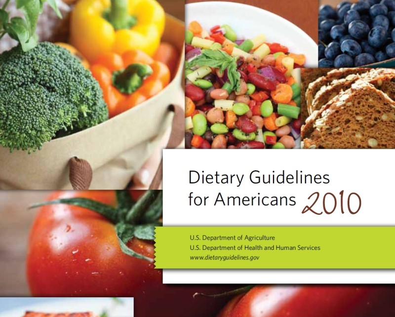 2010 Dietary Guidelines For Americans A Series