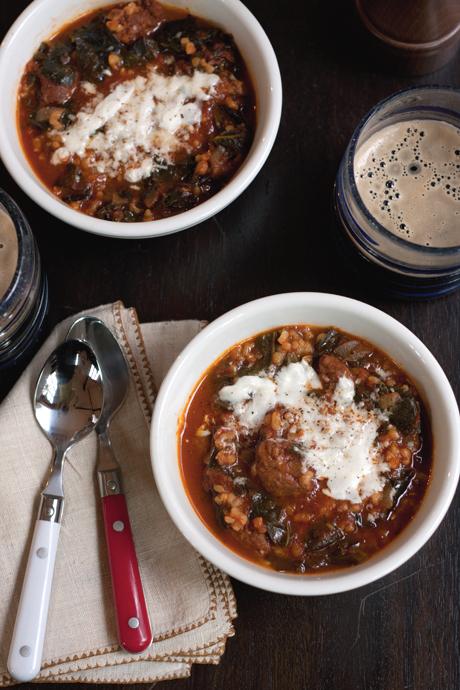 Bertucci's sausage soup