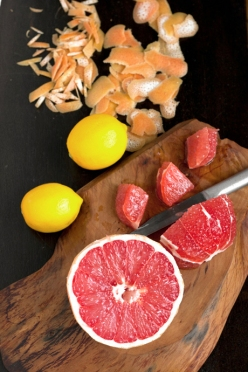 Meyer lemon red grapefruit marmalade