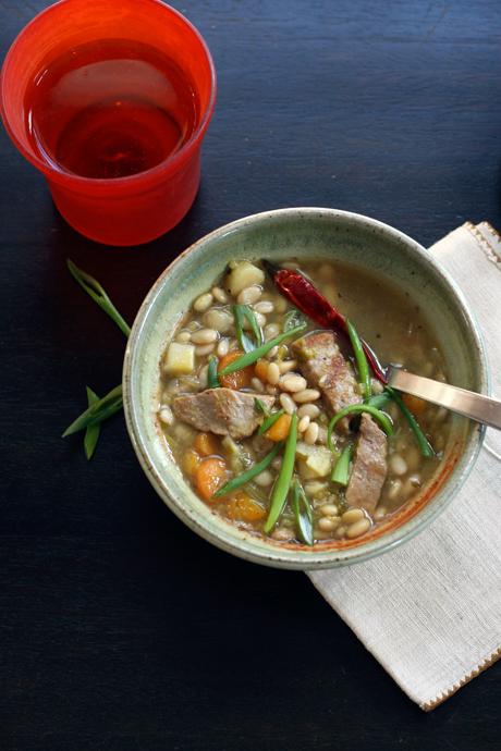 tepary bean soup