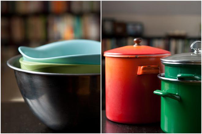 big bowls + pots