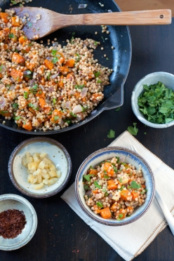 toasted israeli couscous
