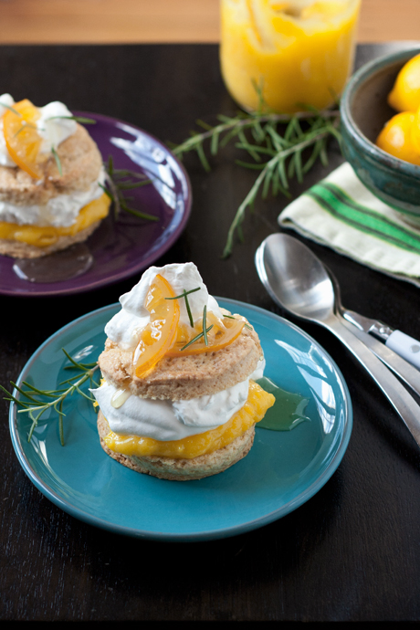 meyer lemon shortcake
