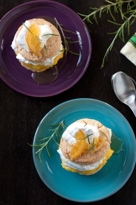 meyer lemon shortcake