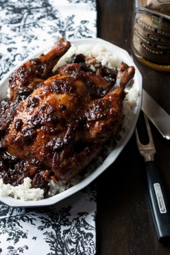 drunken cherry chicken