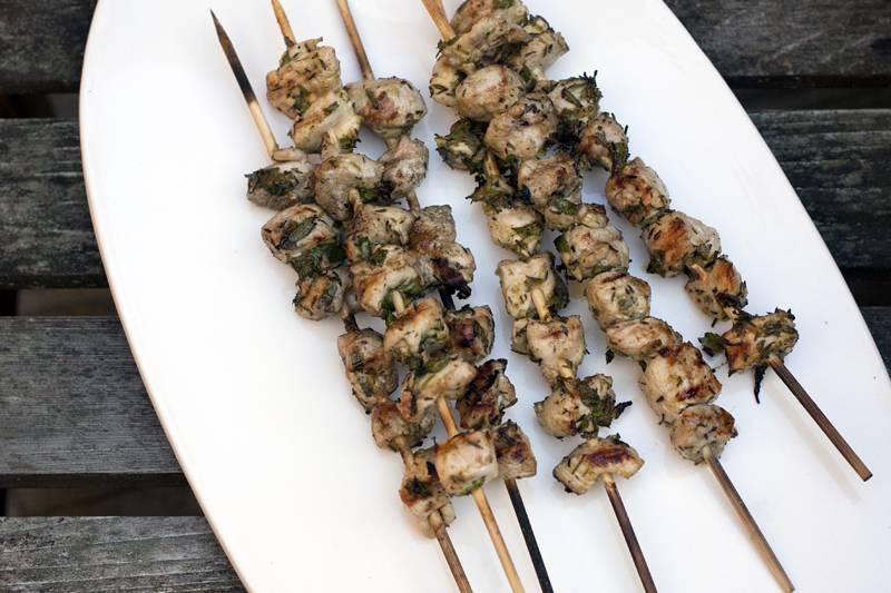 chicken-on-a-stick