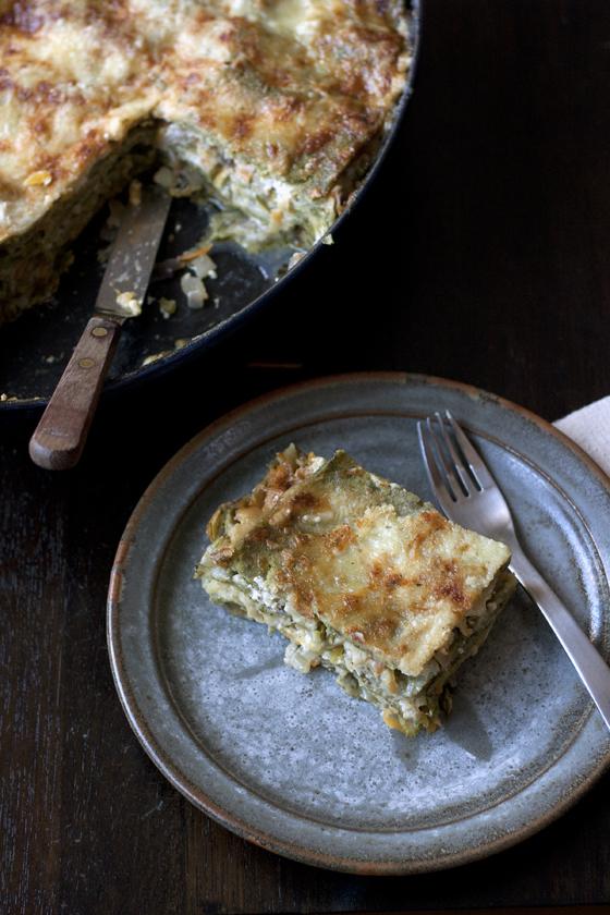 chard-lasagna