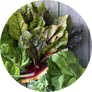 click for leafy greens recipes