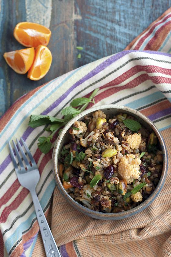 cauliflower-lentil-rice-salad