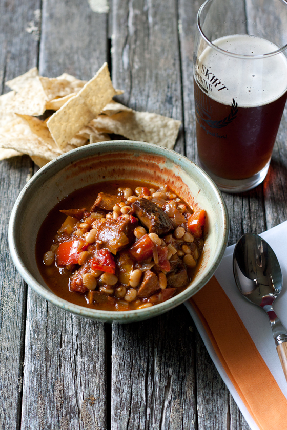 tomato-chorizo-bean-stew